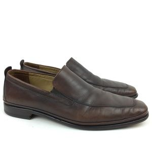 Cole Haan Mens Loafers Size 10.5 M Brown Leather